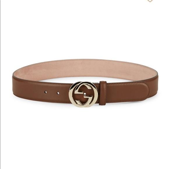 3b863eb0b0c Gucci Accessories - Authentic Gucci Interlocking G Leather Belt XS